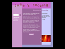 JULIE\'S COOKING